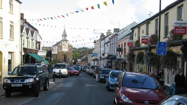 Narberth High Street High St High Street Shops And High St Businesses